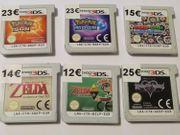 Nintendo 3DS DS Spiele Pokemon