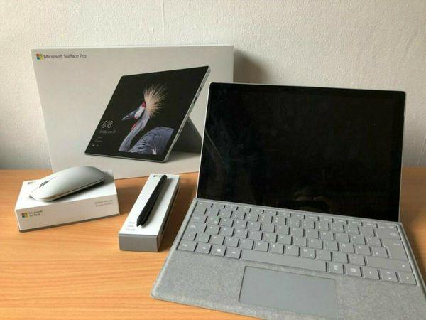 Microsoft Surface Pro 7 (Intel Core i7, 8GB RAM, 256GB SSD)