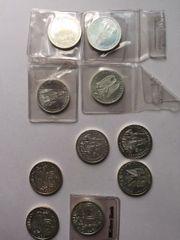 10 Stück - 10 DM Gedenkmünzen