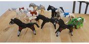 10 Playmobil Pferde Konvolut