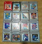 Spiele für Gameboy von Nintendo -