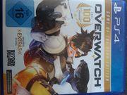 1 PS 4 Spiel Overwatch