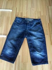 Herren Jeans 3 4 Hose