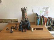 Playmobil-Drachenturm mit Rittern und Schlossgespenst
