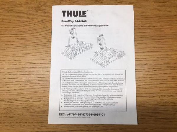 Thule Fahrradträger EuroWay 944 946