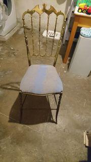 Dali ähnlich Design Stuhl Messing