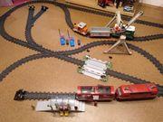 Elektrische ferngesteuerte Playmobil Eisenbahn mit