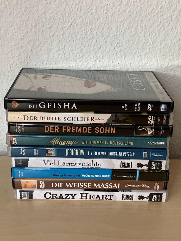 51 Filme DVDs 8 für