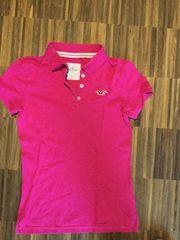 Hollister Polohemd Pink Größe XS