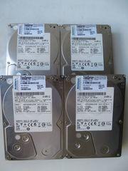 4x Festplatten Hitachi Ultrastar A7K2000