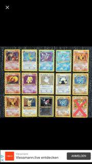 SUCHE KAUFE alte Pokemonkarten