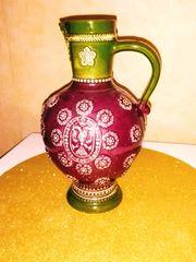 Keramikkrug Vase 70er Jahre