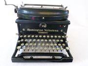 Alte antike Schreibmaschine Remington Noiseless