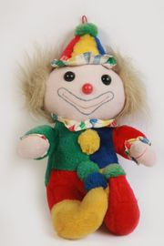 Süßer weicher Clown Kasperle Harlekin
