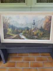 Gemälde von Künstler Bachmann zu