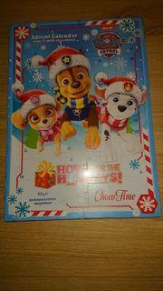 paw patrol Adventskalender mit Schokolade