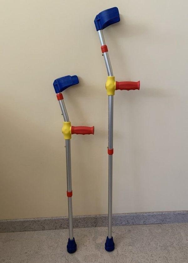Kinder Krücke Unterarmgehstütze Gehhilfe 2
