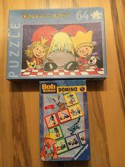 Domino und Puzzle