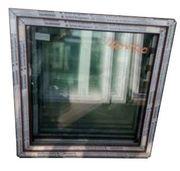 Kunststofffenster Fenster 100x100 cm bxh