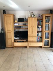 Wohnzimmerschrank und Sideboard fiebersenkende Lampen