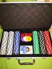Pokerkoffer Komplett