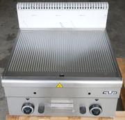 Gas-Grillplatte Grillplatte MBM GFT66R Profigrillplatte