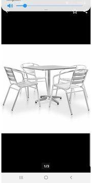 Tisch und Stühle Allu