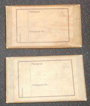 2 Stück Feldpostkartons 2 WK-