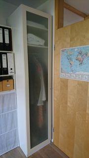 Ikea Kleiderschrank Pax weiß 50x58x220