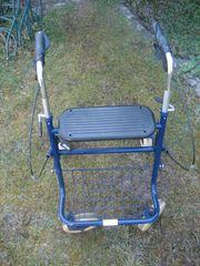 Gehwagen - Rollator - Gehhilfe mit Sitz