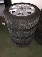 BMW E46 Winterreifen auf Alufelgen