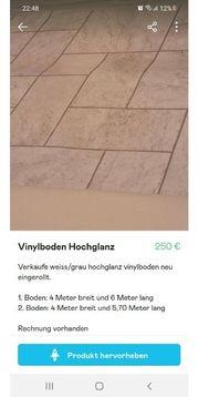 Vinylboden Hochglanz zu verkaufen