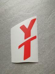 Young Talent Sticker Ferrari-Rot