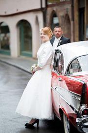 Vintage Brautkleid im 50er Stil