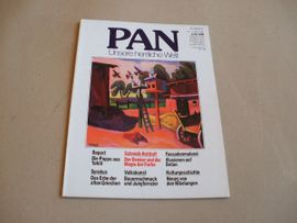 Zeitschriften, Magazine - Kunst-Zeitschrift PAN Burda-Verlag