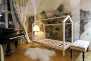 Hausbett Bella Kinderbett aus Holz