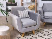 Bezug für Sessel BERNES Samtstoff