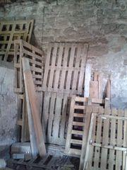 Holzpaletten zuverkaufen