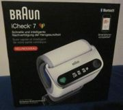 Handgelenk-Blutdruckmessgerät BRAUN iCheck7 neuwertig