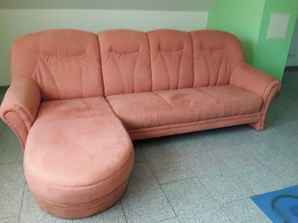 3 Sitzer Couch mit Ottomane