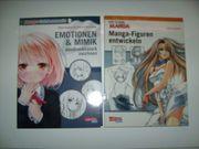 3 Bücher Manga Zeichnen lernen