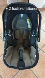 Kiddy evoluna 2 Isofix-stationen