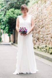 Boho-Brautkleid mit wunderschöner Spitze von