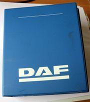 Original-DAF Werkstatthandbuch 1986