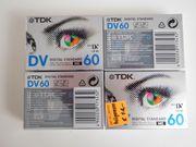 NEUE TDK Kassetten Mini DV-60