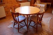 Esszimmer Sitzgruppe Salzburg Tisch Stühle