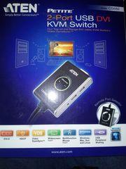 Aten CS682 USB 2 0-DVI-KVM-Switch