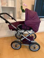 Puppenwagen BRIO Premium Combi violett