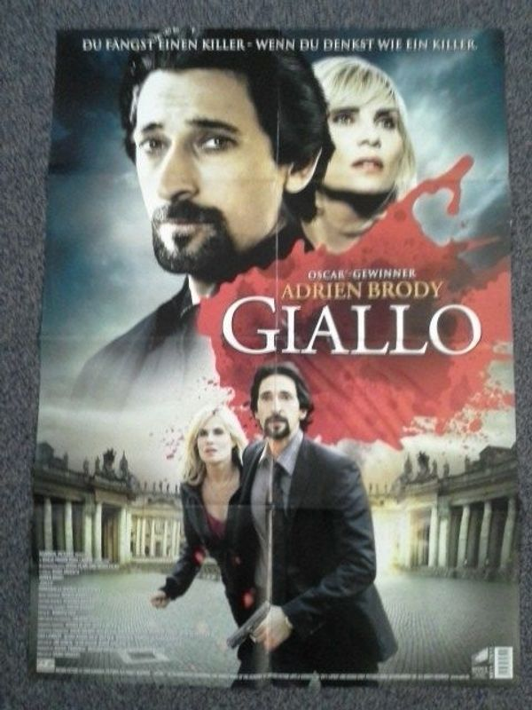 2009 Orginal Plakat Giallo Videothek