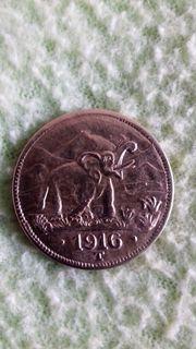 15 Rupien 1916 T Tabora